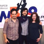 Lydia Liebman with Simon Rentner and Oran Etkin at WBGO