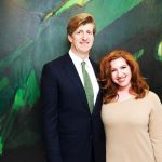 Patrick Kennedy with Lydia Liebman at Columbia Doctors, NYC
