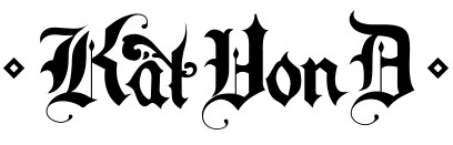 Image result for kat von d makeup logo