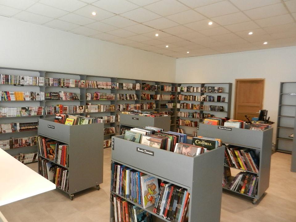 rayon de la librairie le royaume des livres