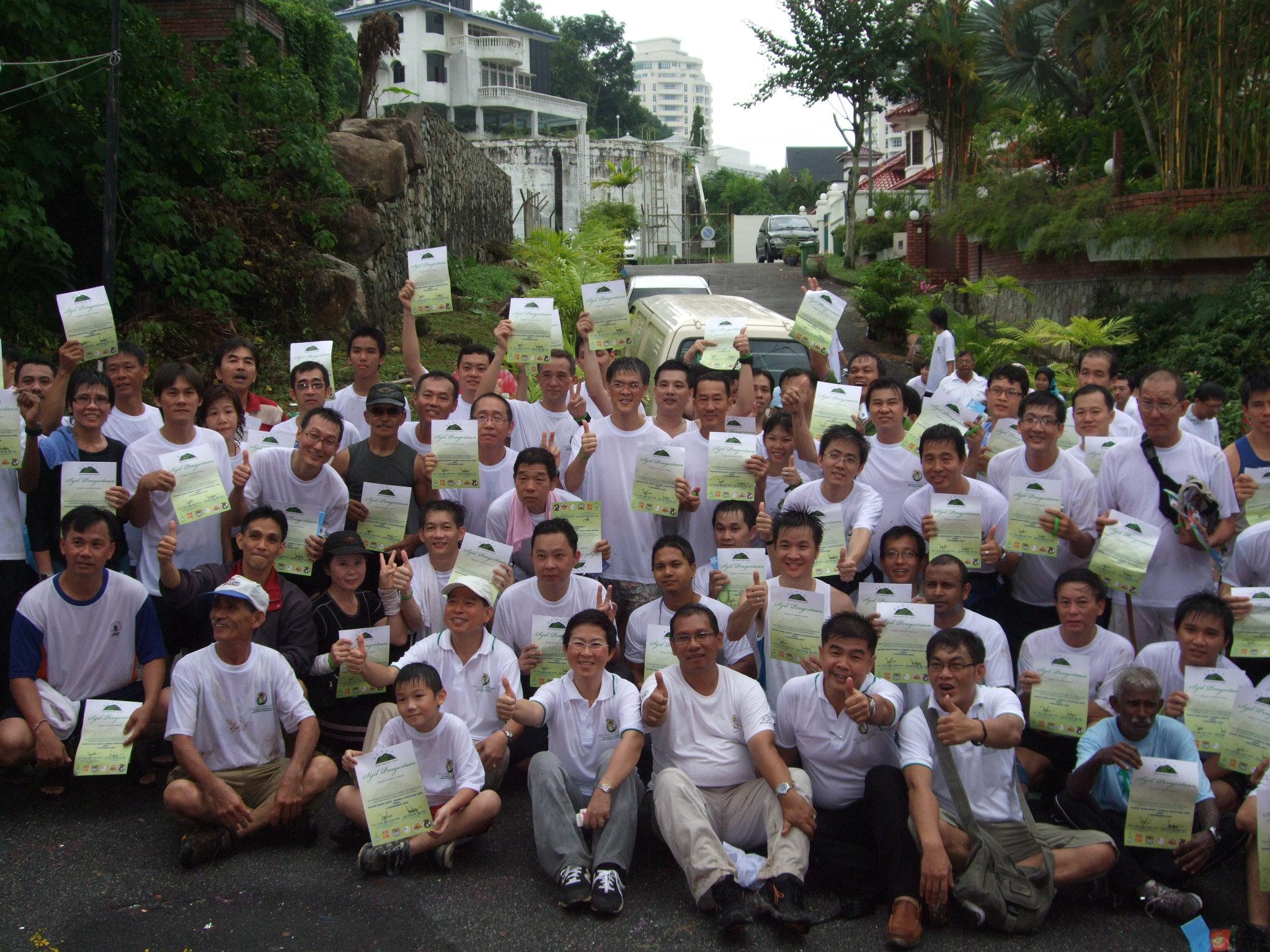 Bukit Jambul Hikethon 2009