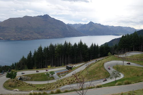 For a good mix of thrill and scenery - try Queenstown Skyline Luge