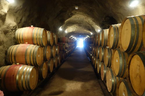 Wine Cellar with a consistent nice chilly temperature all year round.