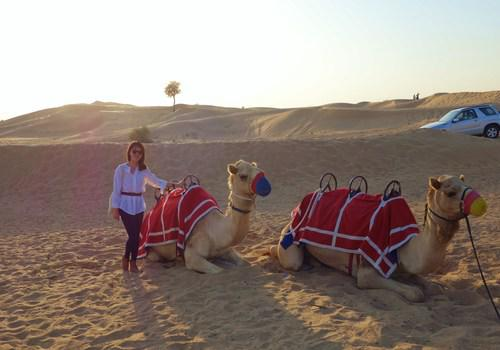 Camel Riding on the Dunes