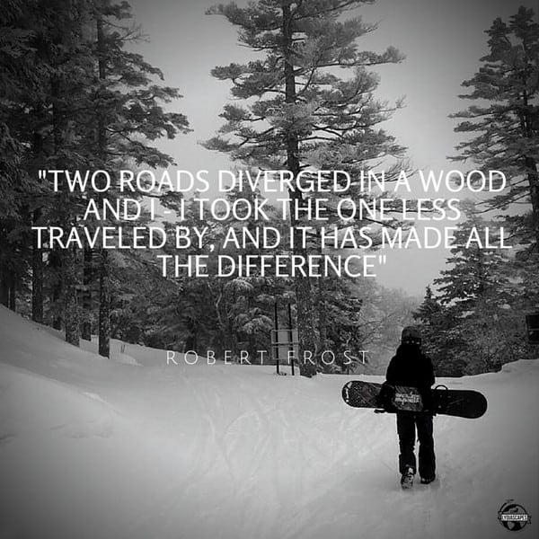 Lydiascapes Top 10 Favourite Travel and Vacation Quote #8 - Photo was shot on a ski trip at Shiga Kogen Nagona, an hour away from Tokyo City. Read about my Japan trip here.