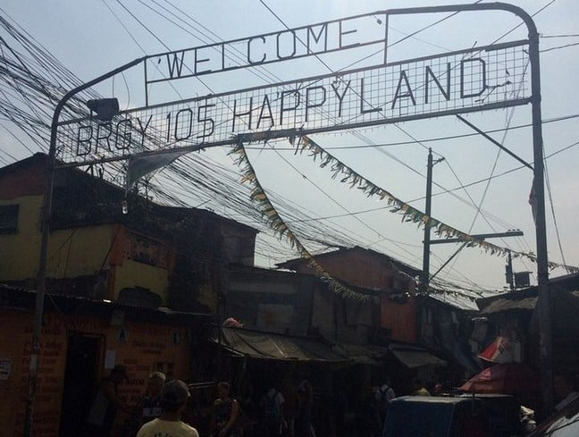 Entering Happyland in Philippines