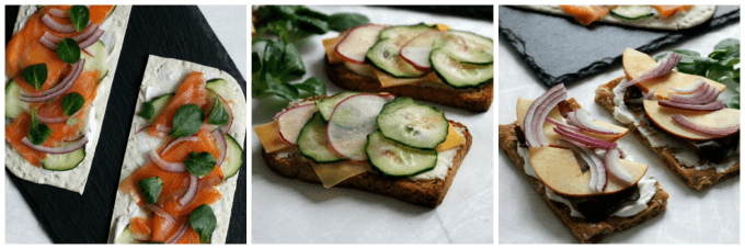 Smoky Open Faced Sandwiches {Recipe Redux}