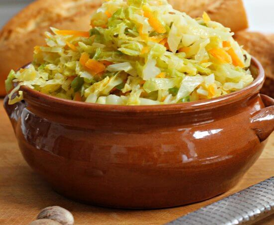 Spicy Steamed Cabbage