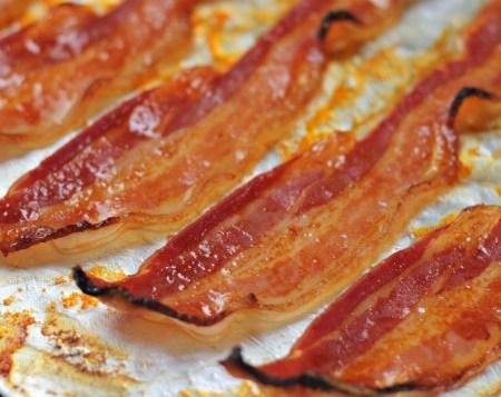 Sriracha Honey Bacon ~ Lydia's Flexitarian Kitchen