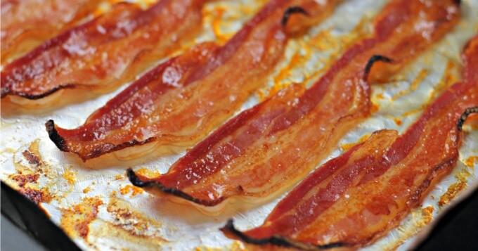 Sriracha and Honey Bacon