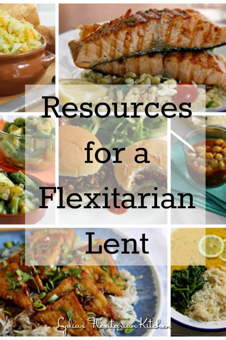 The fasting period of Lent can be a great time to reduce the amount of meat you're eating. Check out our resources for a #Flexitarian #Lent.