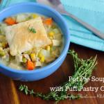Loaded Pot Pie Soup ~ Lydia's Flexitarian Kitchen