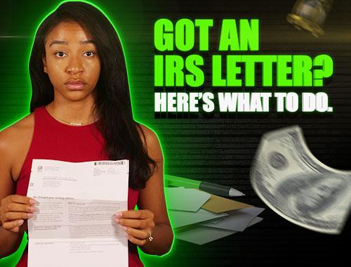 got an IRS letter