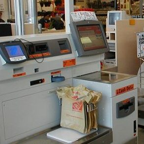 self check out, touchscreen, payment, point of sale