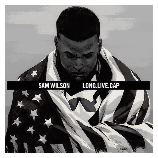 Captain America #1 by Mahmud Asrar A$AP Rocky - Long.Live.A$AP
