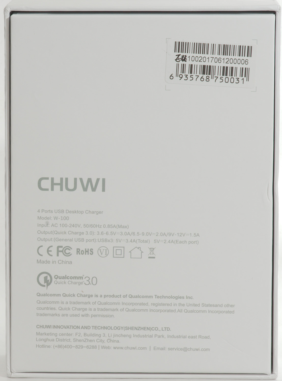 Test Of Chuwi Hi Dock 4 Usb Desktop Charger W 100