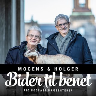 Mogens og Holger bider til benet
