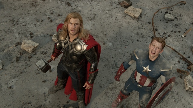 marvel's the avengers -thor-and-captain-america