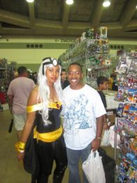 baltimore comic con 2012 - storm and me