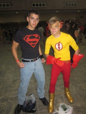 baltimore comic con 2012 - superboy and kid flash