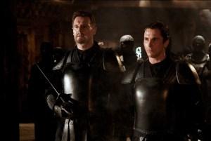 Batman Begins Liam Neeson and Christian Bale as Bruce Wayne