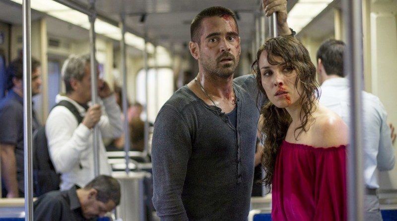 Dead Man Down Colin Farrell and Noomi Rapace