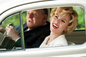 Hitchcock Anthony Hopkins and Scarlett Johansson
