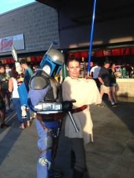 Star Wars Night - Jango Fett and Jedi