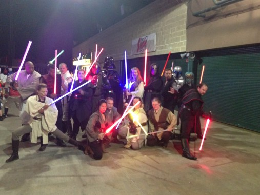 Star Wars Night - Jedi and Sith together