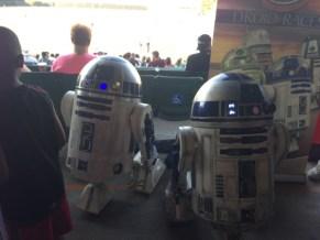 Star Wars Night - R2D2 droids