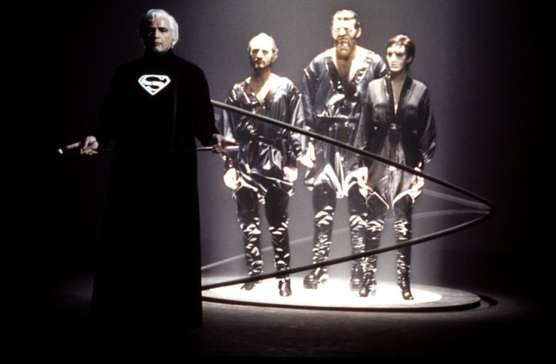 Superman the movie 1978 marlon brando as jor-el sentences general zod, non and ursa