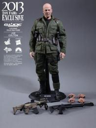 Hot Toys GI Joe Retaliation Joe Colton accessories