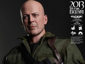 Hot Toys GI Joe Retaliation Joe Colton side head angle