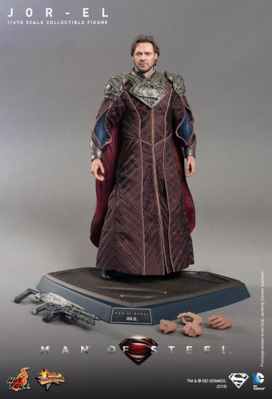Hot Toys Man of Steel Jor-El accessories