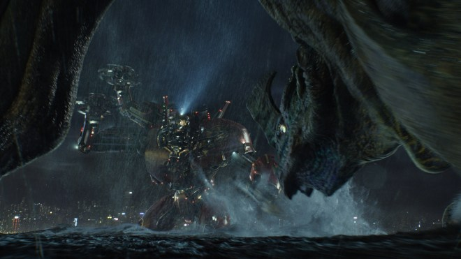Courtesy Warner Bros. Pictures China's Crimson Typhoon faces off against a Kaiju code name Otachi.