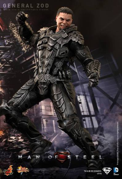 Hot Toys Man of Steel General Zod striking pose