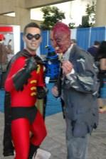 Baltimore Comic Con 2013 - Robin and Two Face