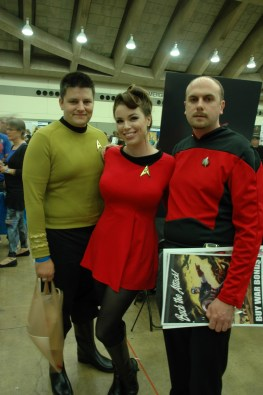 Baltimore Comic Con 2013 - Star Trek crew