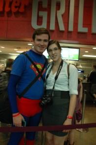Baltimore Comic Con 2013 - Superman and Lois