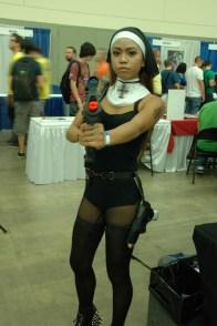 Baltimore Comic Con 2013 - Warrior Nun
