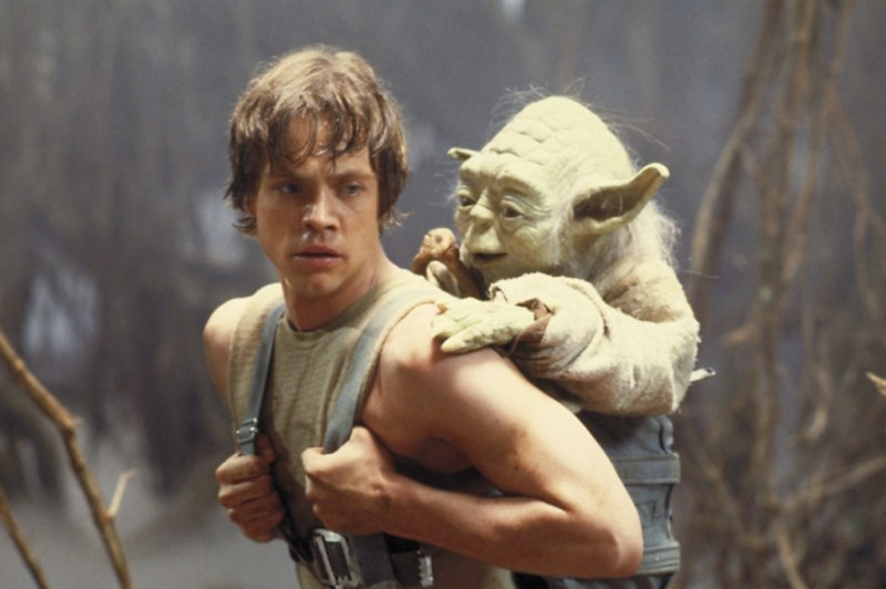 The Empire Strikes Back - Luke Skywalker and Yoda