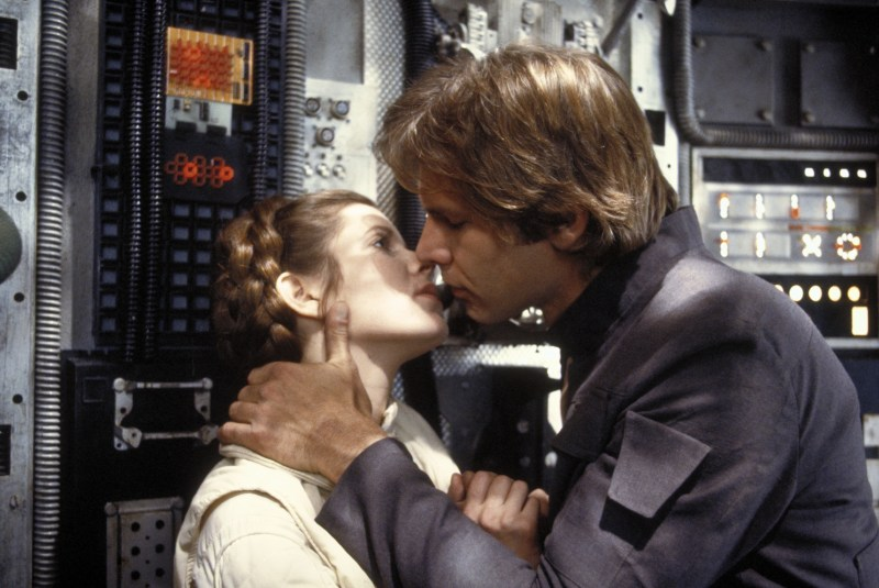 The Empire Strikes Back - Princess Leia and Han Solo
