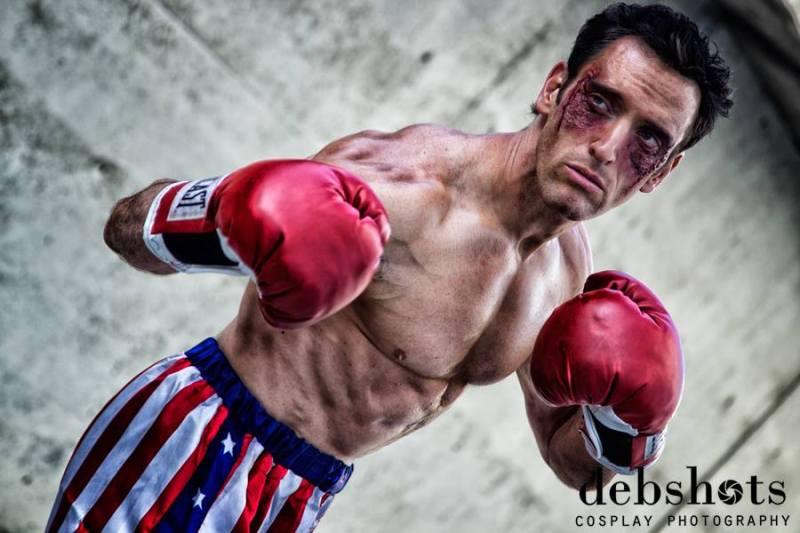 Lonstermash as Rocky