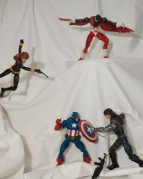 Captain America, Avengers Marvel Legends figures