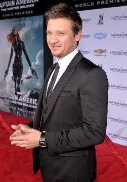 Alberto E. Rodriguez/Getty Images Jeremy Renner