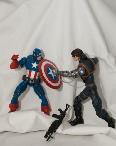Captain America vs The Winter Soldier