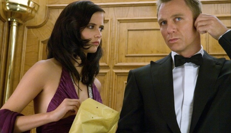 Casino Royale Eva Green and Daniel Craig