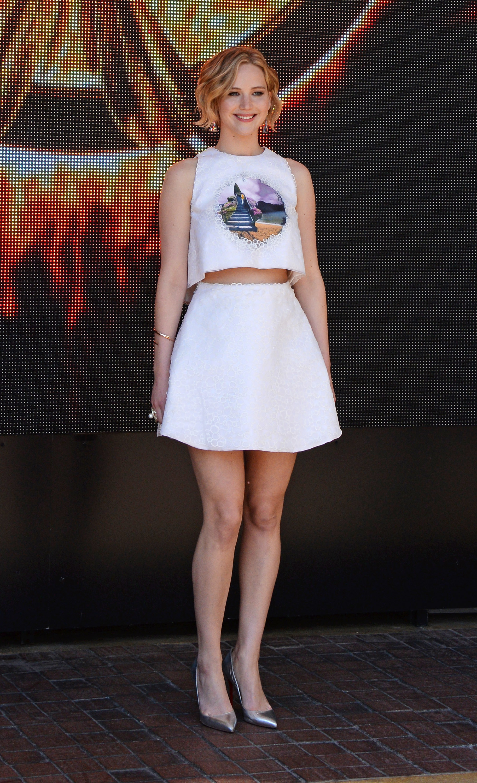 "Jennifer Lawrence leads ""The Hunger Games: Mockingjay ..."