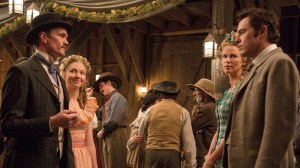 a_million_ways_to_die_in_the_west - neil patrick harris, amanda seyfried, charlize theron and seth macfarlane