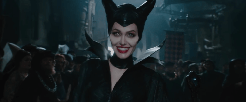 Angelina Jolie in Maleficent-(2014)